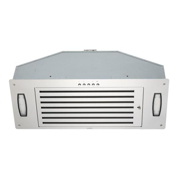 30 in. 750 CFM Insert Range Hood in Stainless Steel