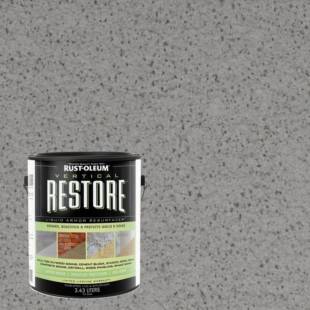 1-gal. Gainsboro Vertical Liquid Armor Resurfacer for Walls and Siding