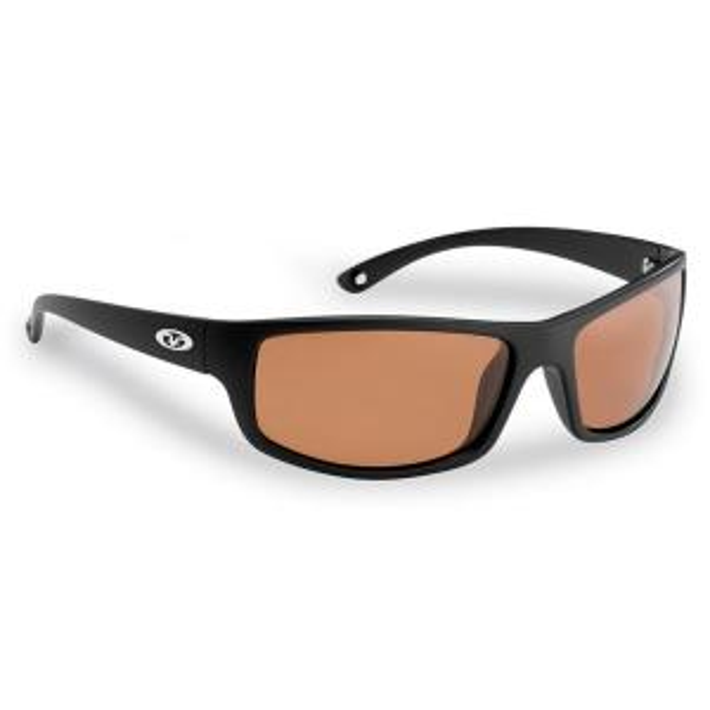d23bc4ab148 Flying Fisherman Kili Polarized Sunglasses Brown Frame with Amber ...