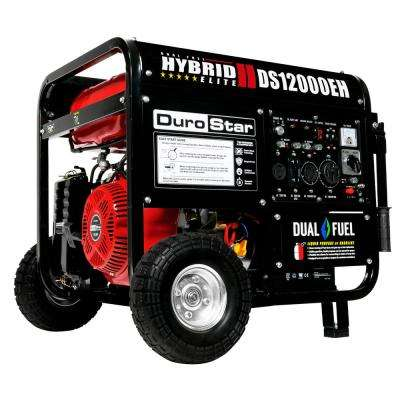 12000/9500-Watt Dual Fuel Hybrid Powered Electric Start 18 HP Portable Generator