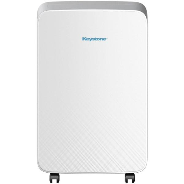 Keystone 14,000 BTU 7,800 BTU (DOE) M Series Portable Air Conditioner for Rooms up to 220 sq. ft. in White