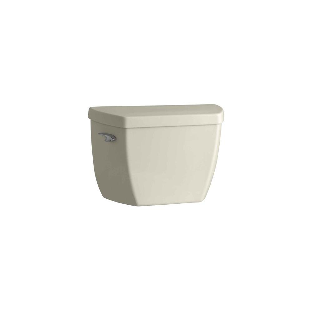 Highline 1.0 GPF Single Flush Toilet Tank Only in Almond