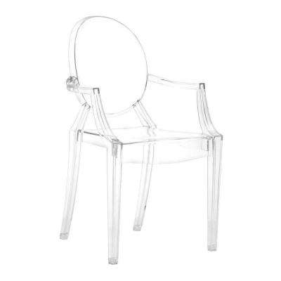 ZUO Anime Transparent Acrylic Dining Chair (Set of 4) by ZUO