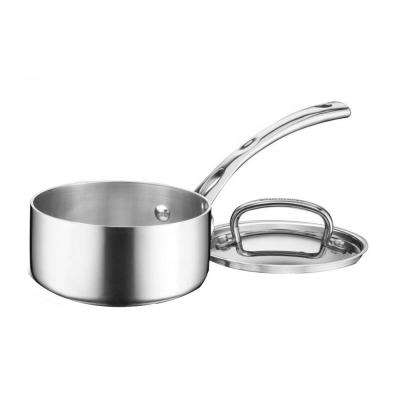 French Classic 1 Qt. Stainless Saucepan with Cover