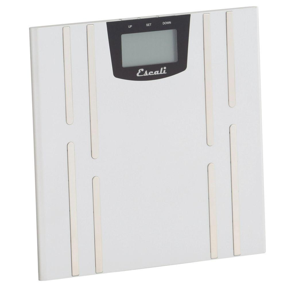 Escali Digital Body Fat, Water and Muscle Mass Scale
