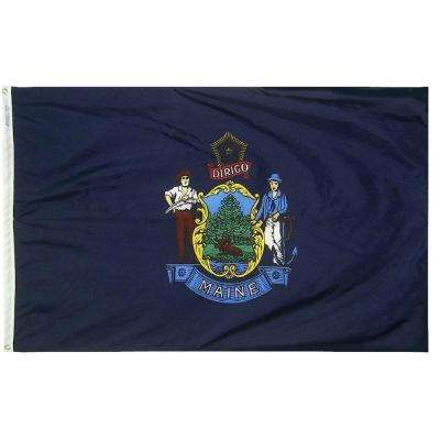 4 ft. x 6 ft. Maine State Flag