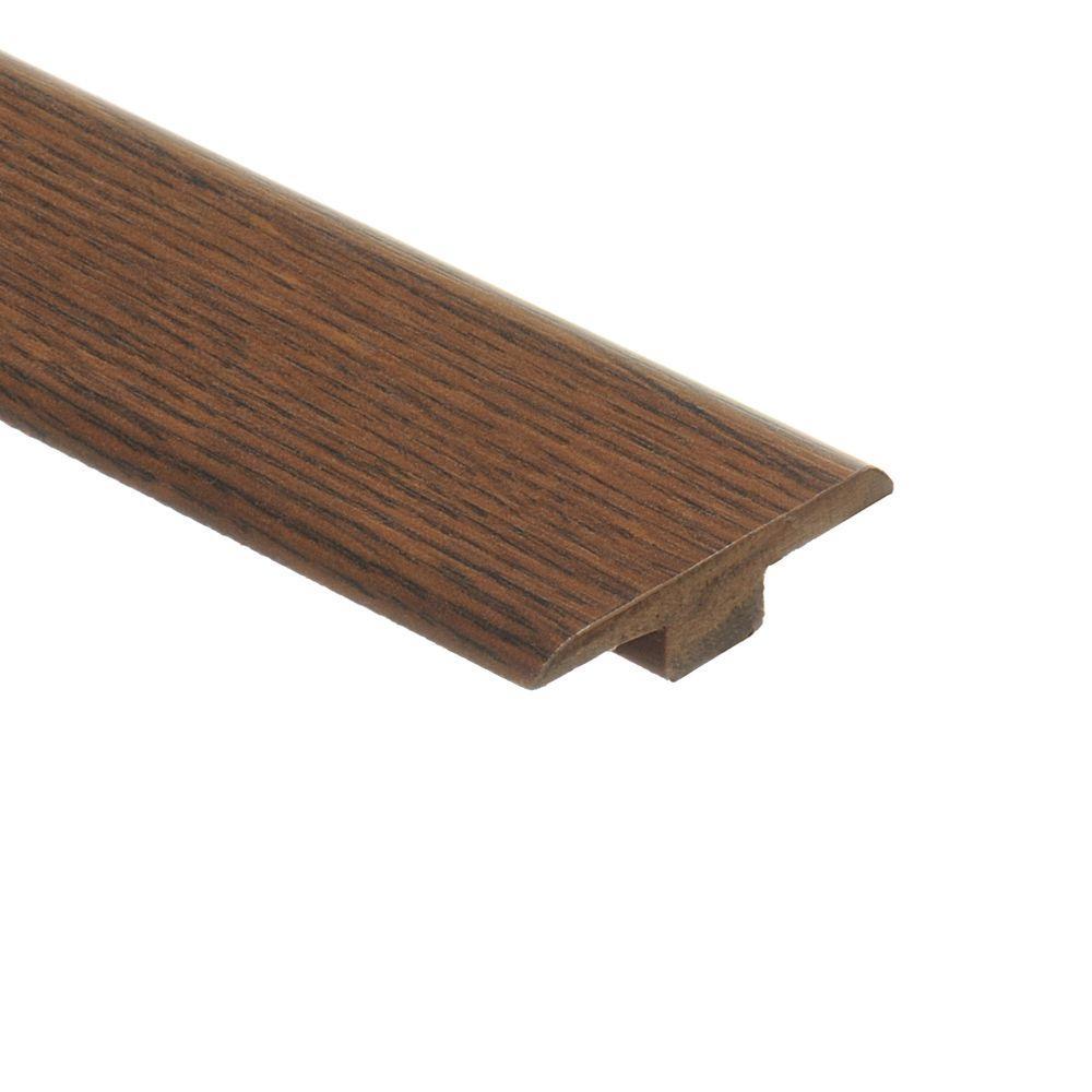 Zamma Galena Oak 7/16 in. Height x 1-3/4 in. Wide x 72 in Length Laminate T-Molding