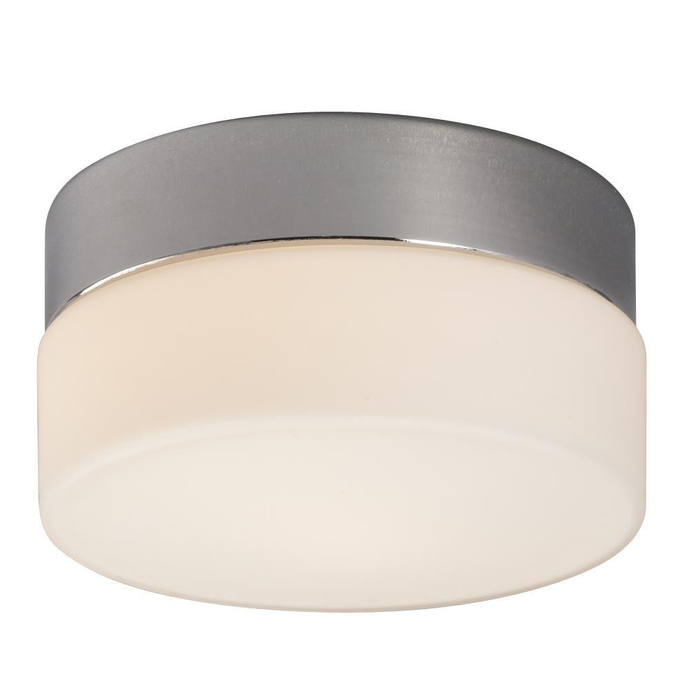 Filament Design Negron 1-Light Chrome Halogen Flush Mount