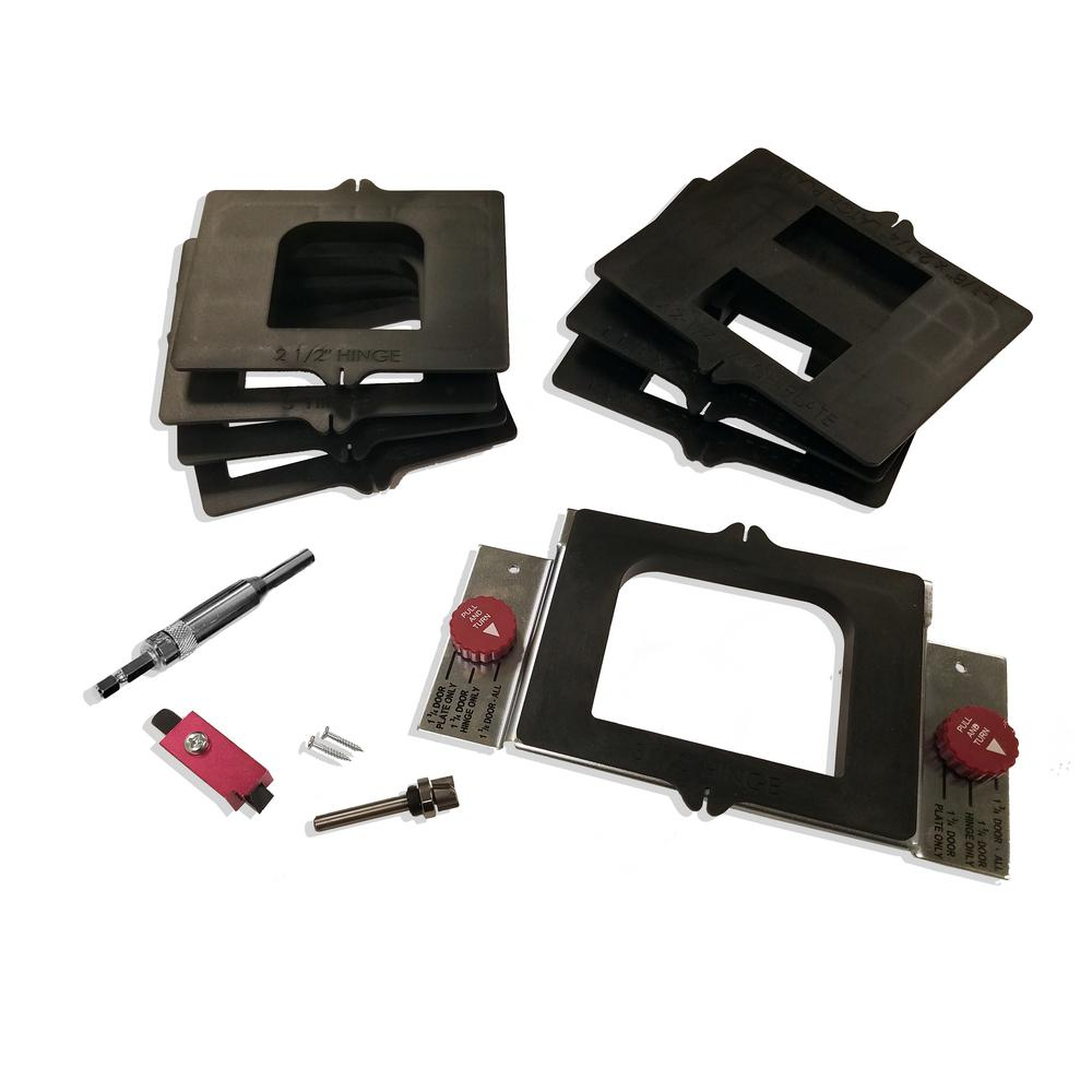 Milescraft HingeMate350 Jig Complete Door Mortising Kit-1220 - The ...