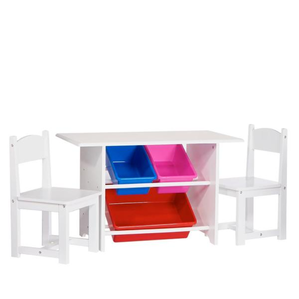 Riverridge Home 6 Piece White Children S Table And Chair Set