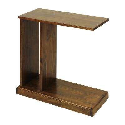 Warm Brown C-Side Table