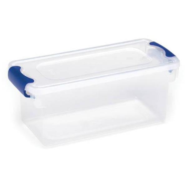 5pcs Round Plastic Box Mini Storage Box With Cover Multipurpose Box HGHC LDUPTH