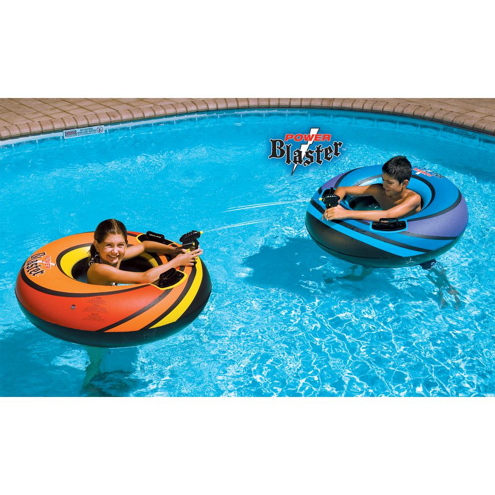 Swimline 42 in. Power Blaster Dual Squirter Swimming Pool Tube Set