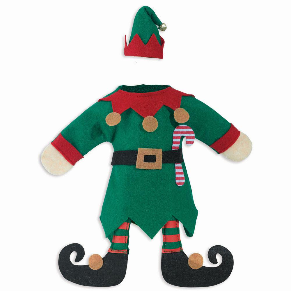 Amscan Christmas Elf Bottle Cover (3-Pack)-160265 - The Home Depot