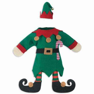 Christmas Elf Bottle Cover (3-Pack)