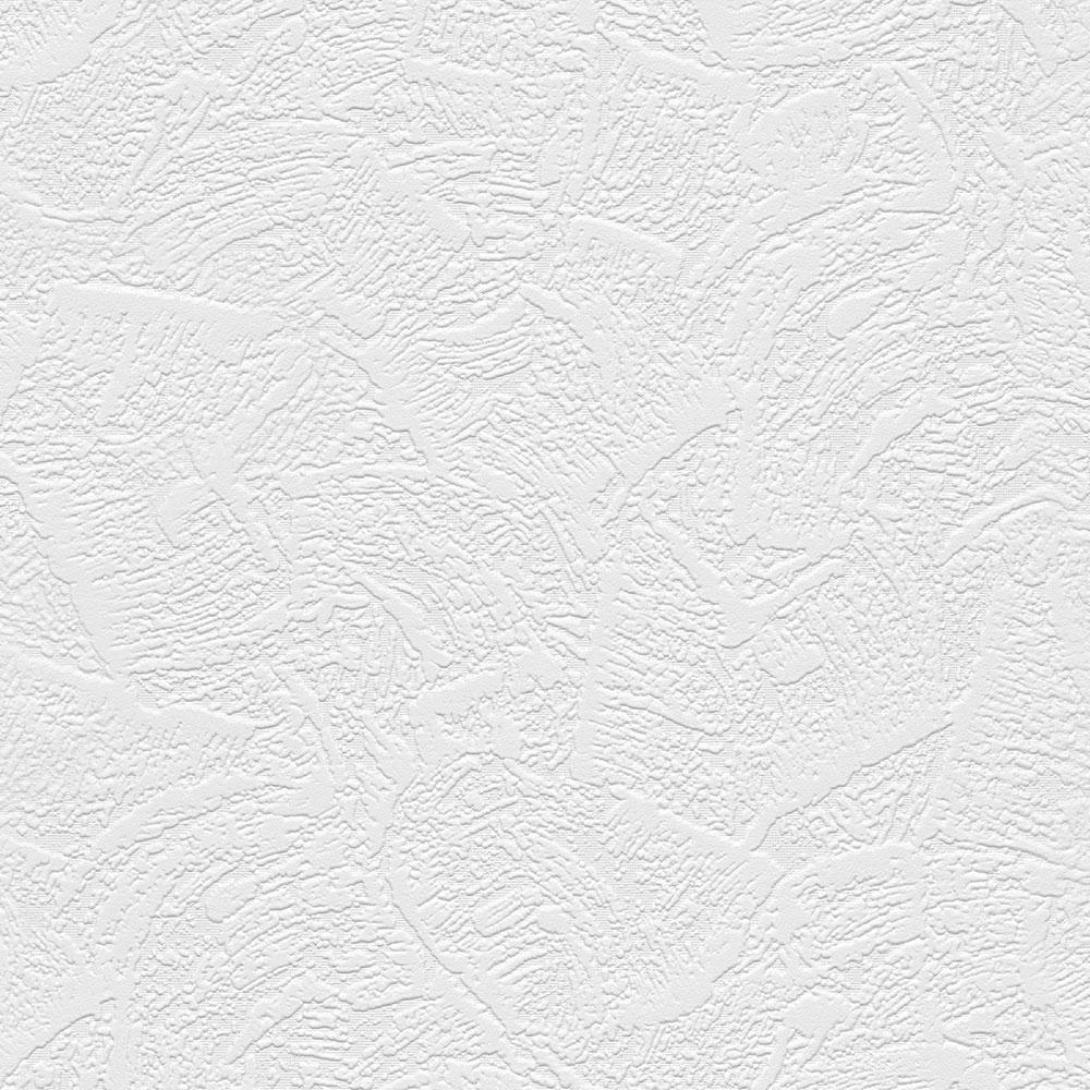 Large Brush Stroke Texture Paintable Wallpaper Vinyl Strippable Roll Wallpaper (Covers 56 sq. ft.)