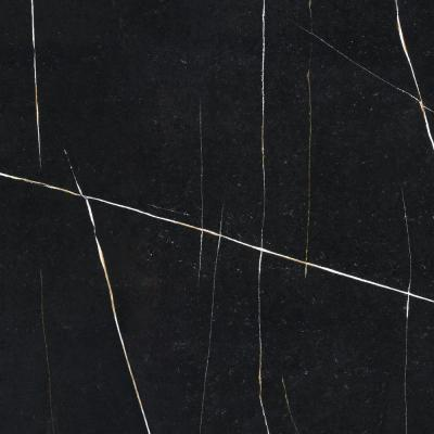 4 in. x 8 in. Quartz Countertop Sample in Eternal Noir Suede
