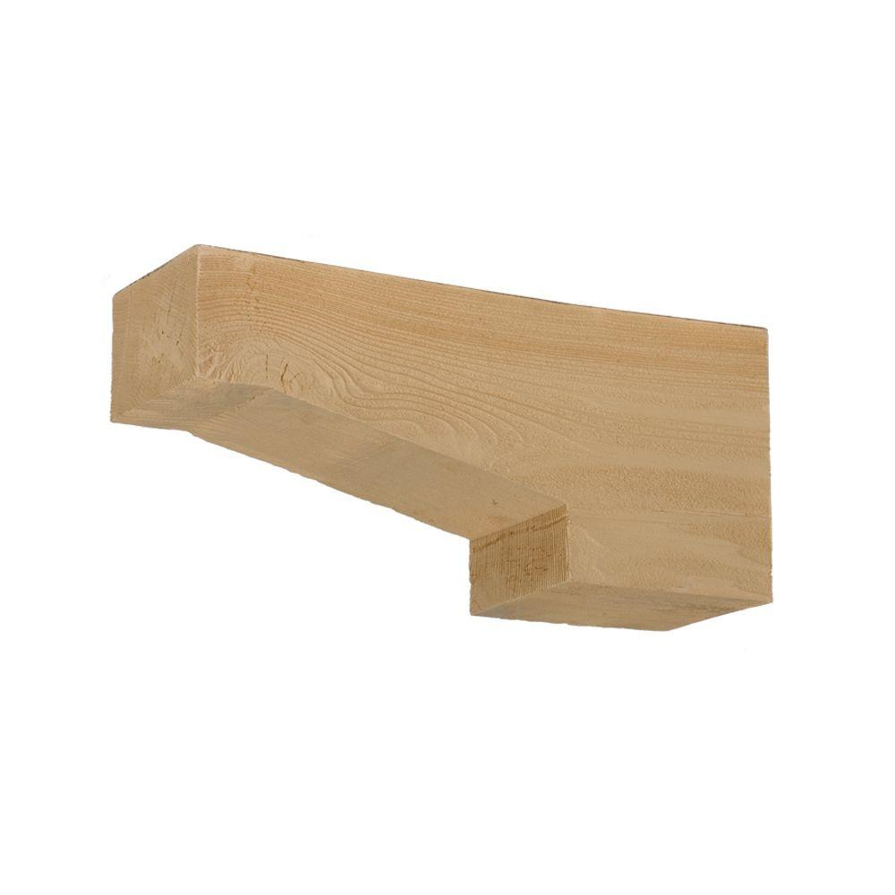 Fypon 3 1 4 In X 16 In X 7 1 4 In Polyurethane Timber Corbel Cor16x7x3s The Home Depot