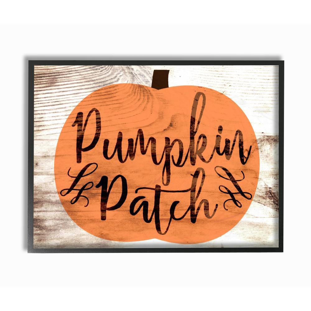 "stupell industries 11 in. x 14 in. ""pumpkin patch halloween"