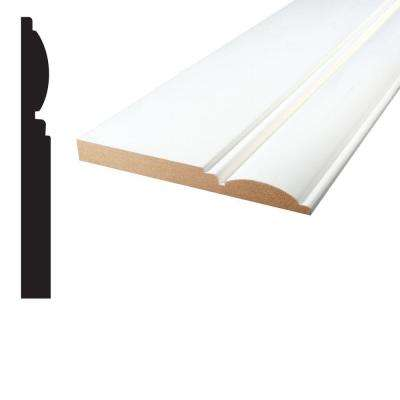 5/8 in. x 5-15/16 in. x 96 in. Primed MDF Base Moulding