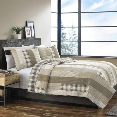 Fairview Saddle King Quilt Set (3-Piece)