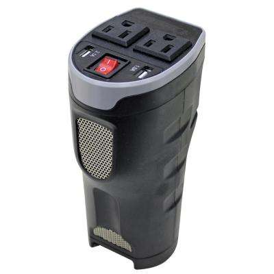 200-Watt Cup Holder Power Inverter