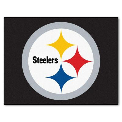 Pittsburgh Steelers 3 ft. x 4 ft. All-Star Rug