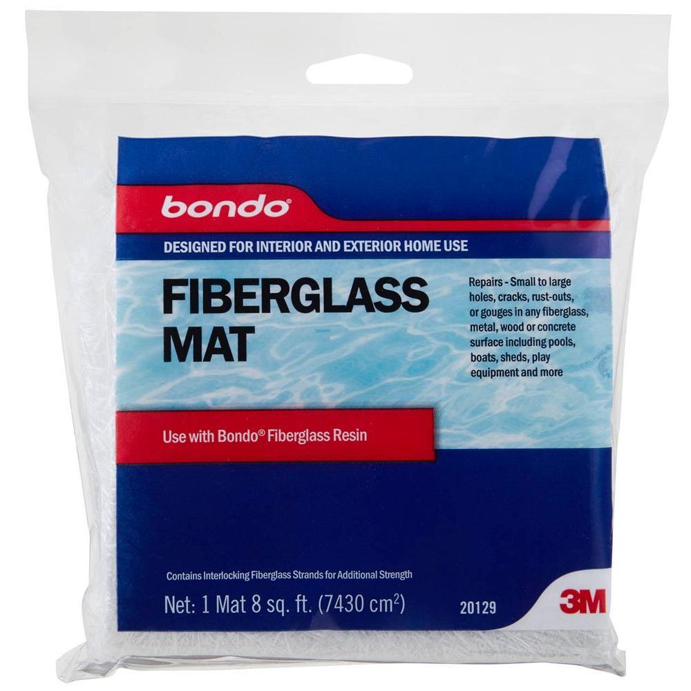 3m Bondo 8 Sq Ft Fiberglass Mat 20129 The Home Depot