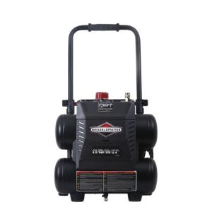 Briggs & Stratton 4.5 Gal. Portable Electric-Powered Quiet Power Technology Air Compressor by Briggs & Stratton