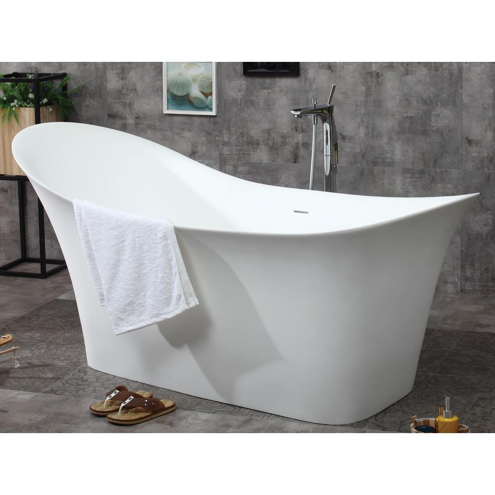Matte white flatbottom bathtub for Top bathtub brands
