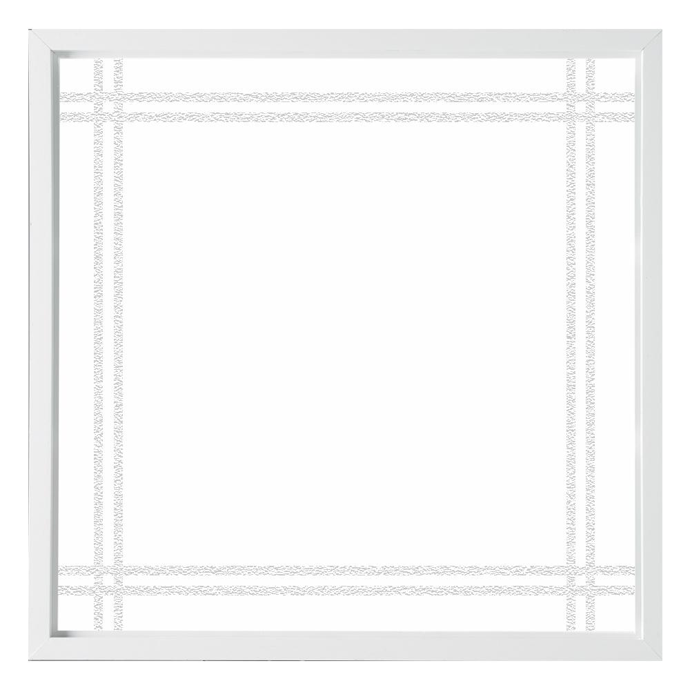 47.5 in. x 47.5 in. Prairie Decorative Glass Picture Vinyl Window
