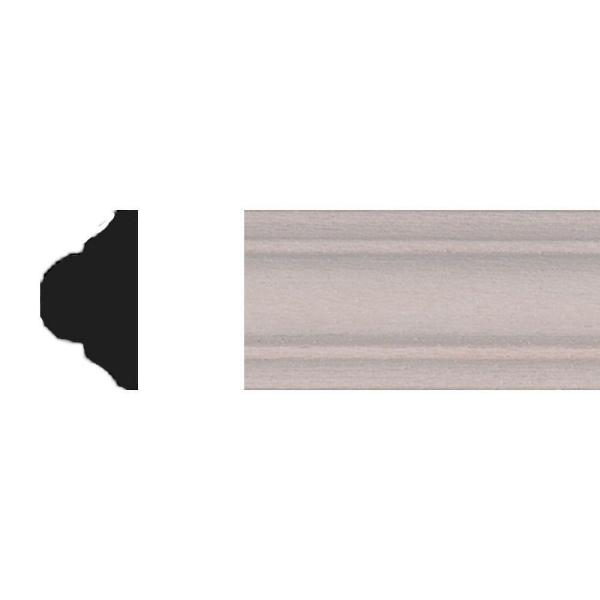 21/64 in. x 5/8 in. x 4 ft. Basswood Panel Moulding