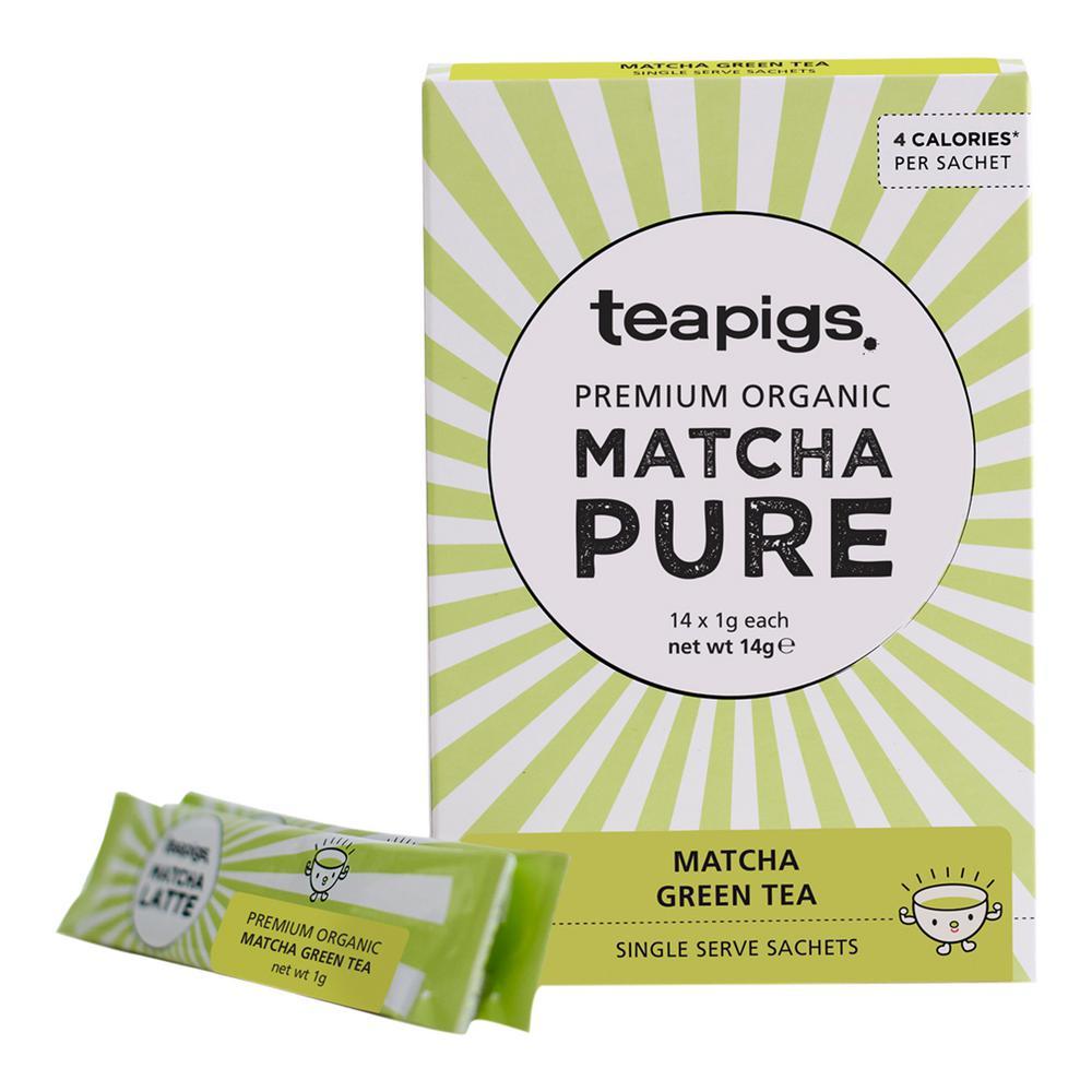 Matcha Pure 14 Tea Bags Sachets (6-Boxes)
