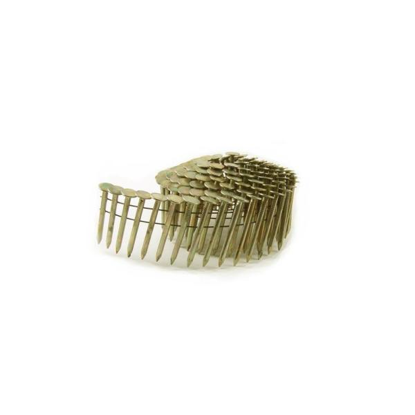 1-1/2 in. x 0.120 High Wire Coil Electro Galvanized Smooth Shank Roofing Nails (720 per Box)