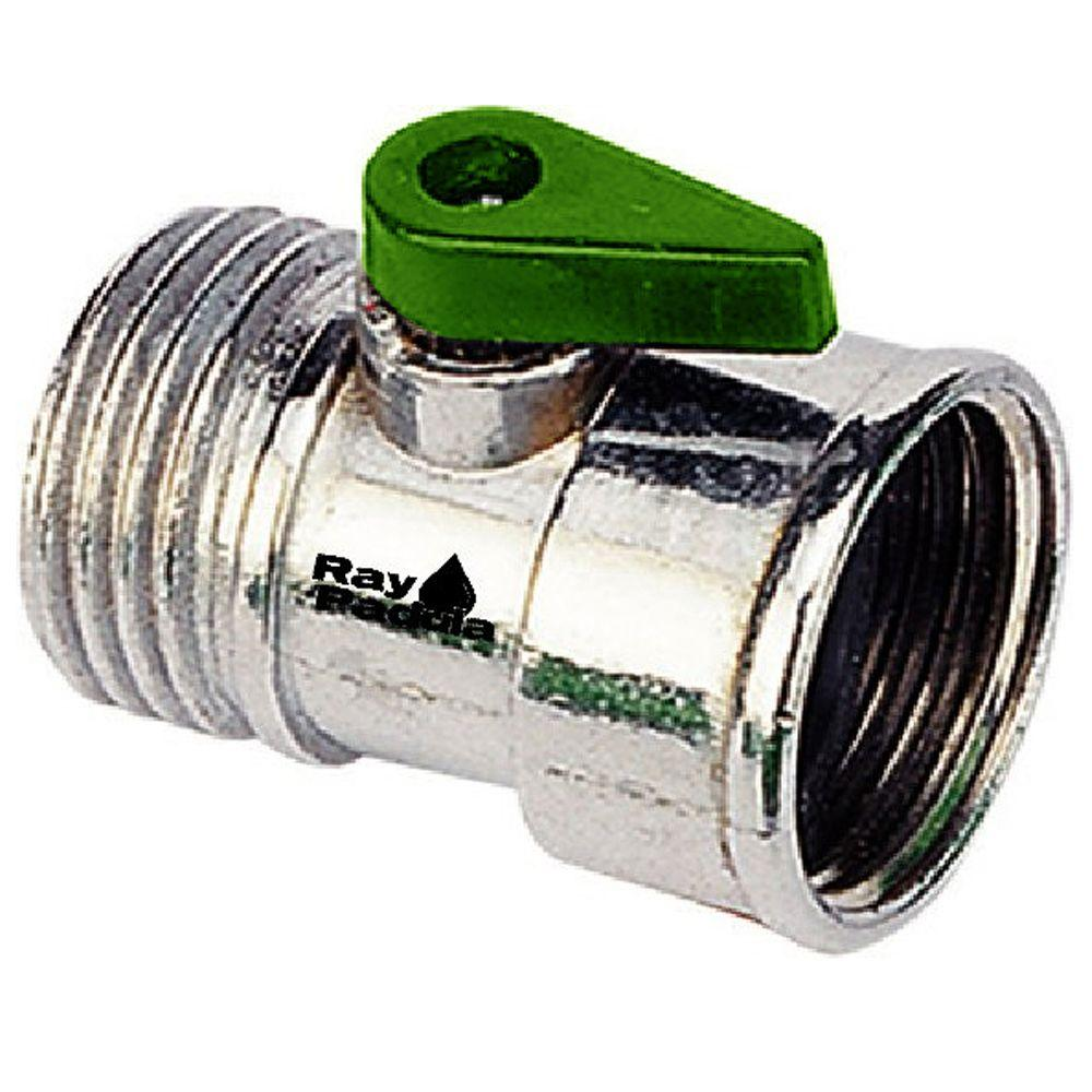 Ray Padula Metal Garden Hose Shut-Off Adapter