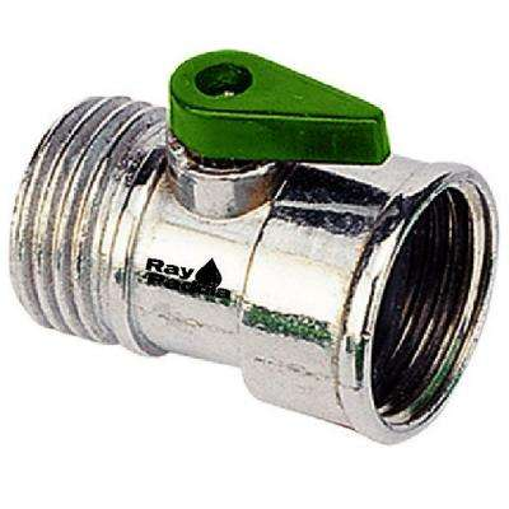 Metal Garden Hose Shut-Off Adapter