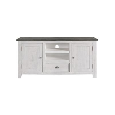 Monterey White with Grey top TV Stand