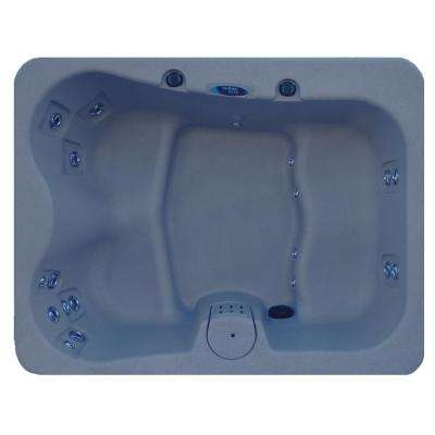 4-Person 19 Jet Plug and Play Laguna Spas Hot Tub with Hard Top Cover