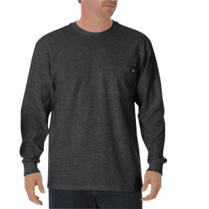 61e9ff0c Dickies Men's Charcoal Flex Relaxed Fit Short Sleeve Twill Work ...