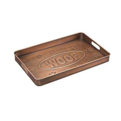 Woof Multi-Purpose Shoe Tray for Boots, Shoes, Plants, Pet Bowls and More