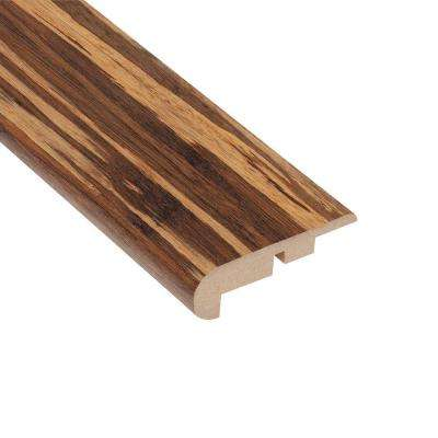Makena Bamboo 7/16 in. Thick x 2-1/4 in. Wide x 94 in. Length Laminate Stairnose Molding