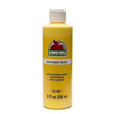 8 oz. Bright Yellow Acrylic Paint