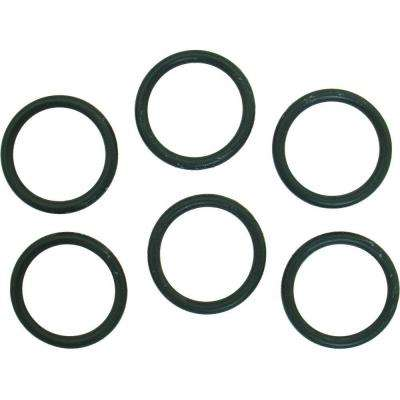 15/16 in. O.D. x 3/4 in. I.D. #214 Rubber O-Ring (6-Pack)