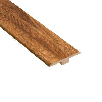 Pacific Hickory 1/4 in. Thick x 1-7/16 in. Wide x 94 in. Length Laminate T-Molding