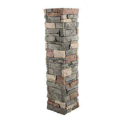 Stacked Stone 1-1/2 in. x 11-1/2 in. Stratford Faux Pillar Panel