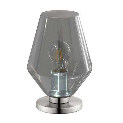 Murmillo 9.6 in. Matte Nickel Table Lamp