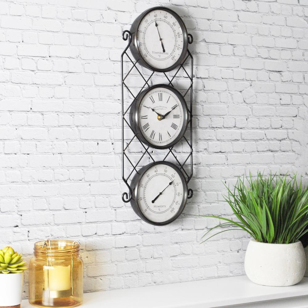 Outdoor Clocks Outdoor Decor The Home Depot