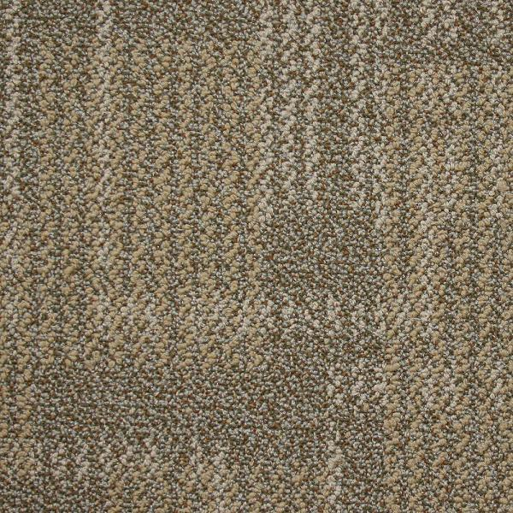Carnegie Deep Ochre Loop 19.7 in. x 19.7 in. Carpet Tile (20 Tiles/Case)