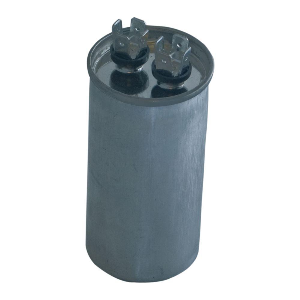 40/5 MFD 440 VAC Round Dual Run Capacitor