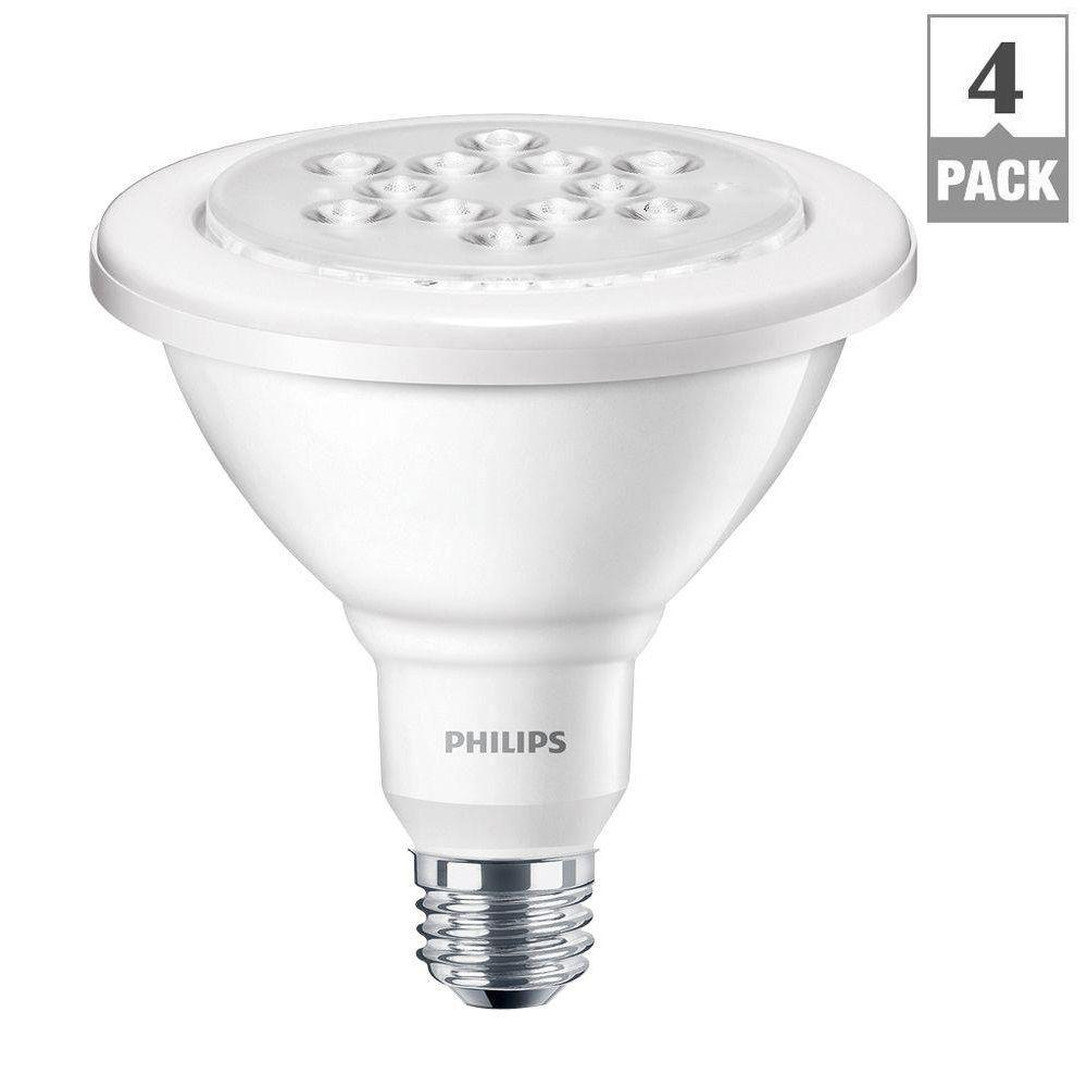 Philips 90 watt equivalent par38 led wet rated outdoor and security philips 90 watt equivalent par38 led wet rated outdoor and security flood bright white 3000k 435008 the home depot aloadofball